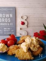 ゆで卵不要フライパンタルタルソースと鱈のフライ