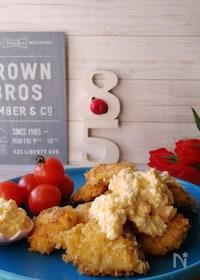 『ゆで卵不要フライパンタルタルソースと鱈のフライ』