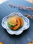 長芋とインゲン、カボチャの揚げ浸し