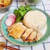 炊飯器で簡単♡本格的‼︎『シンガポールチキンライス』