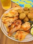 【作業時間5分】鶏手羽元のコンソメ焼き