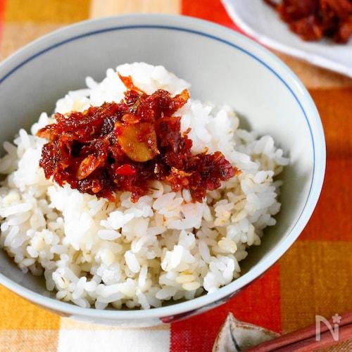 香味野菜の食べるラー油