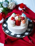 小さなクリスマスケーキ