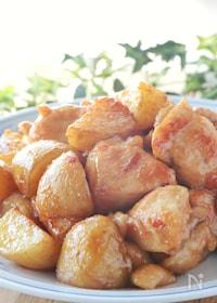 『胸肉柔らか♪ピリ辛美味*鶏胸肉と新じゃがの麻婆風炒め』