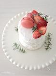 オーブン不用!厚焼きパンケーキde【簡単】ネイキッドケーキ♡