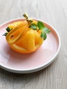 【簡単で可愛いフルーツカット】オレンジバスケット