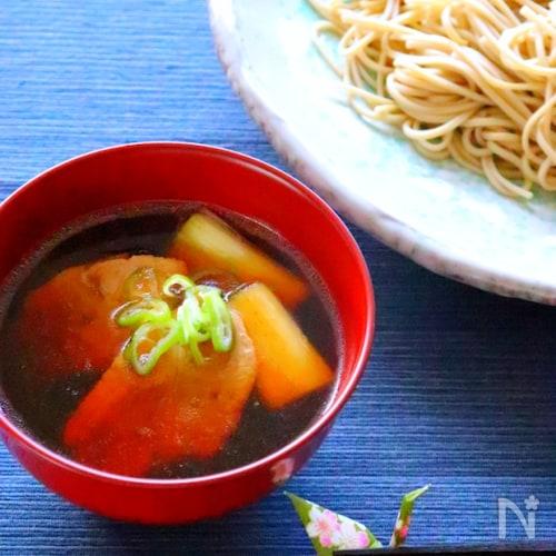めんつゆで簡単!鴨せいろ蕎麦の作り方レシピ