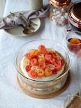 フルーツの薔薇が可愛い♪フラワースコップケーキ