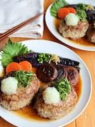 肉汁じゅわ〜♡和風おろし照り焼きハンバーグ