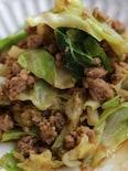 キャベツがいっぱい食べられる炒め物、味噌&みりん味