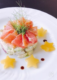 『七夕の日に♡本当に簡単だけど豪華な前菜♪』