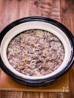 牛土鍋飯し