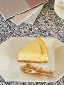 さつまいもチーズケーキ【生クリーム不要、焼き芋の作り方あり】