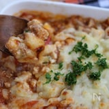 豆腐と挽き肉のグラタン