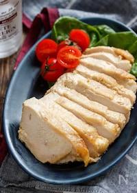 『味噌マヨチキン(鶏ハム)【#作り置き #レンジ #鶏むね肉】』
