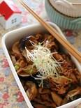 豚こまと茄子の味噌煮