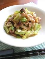 簡単メインおかず☆豚こま肉とキャベツの味噌炒め