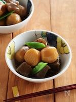 里芋とこんにゃくの甘辛煮