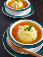 新玉ねぎの丸ごと!コンソメスープ