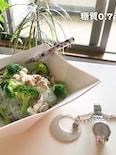 糖質制限でも美味しい♡豚肉とブロッコリーの白滝パスタ