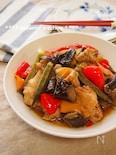 フライパン1つ・調味料2つ!鶏手羽元と野菜の梅酒煮