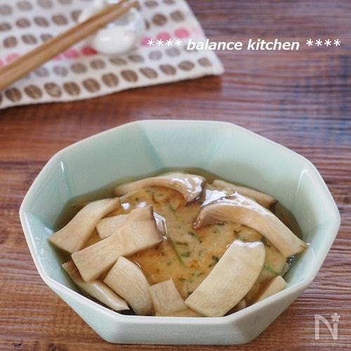 【メタボ解消レシピ】ふわふわ豆腐ハンバーグのきのこあんかけ