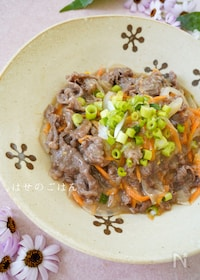 『生姜香る♪『牛肉の生姜とろみ煮』』