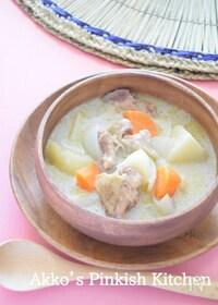 『鶏肉のココナッツミルクシチュー♡南インドの家庭料理』