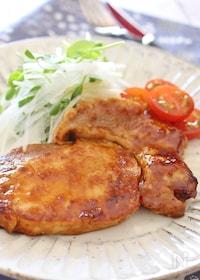 『豚肉の味噌焼き』