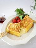 ワンパンde簡単♡人気の韓国屋台風♪たまご&チーズトースト