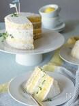 簡単でおしゃれ!タイムとレモンのネイキッドケーキ