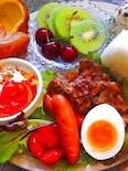 よくばりにお腹満腹!豚の生姜焼きプレート