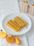 柿とシナモンのアイスキャンディー