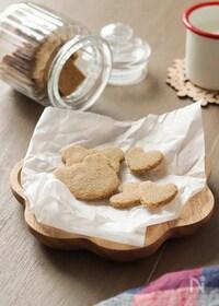 『材料5つ。米粉と米ぬかのサクサククッキー(グルテンフリー)』