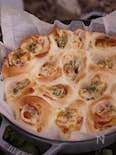 蜂蜜入りのふんわり生地で作る『チーズとベーコンのちぎりパン』