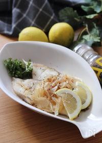 『さっぱり爽やか!簡単で美味しい♡白身魚の中華レモン蒸し』