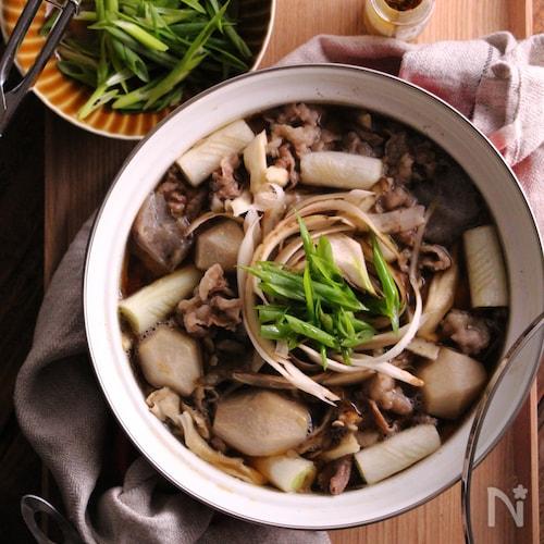 〜山形風〜簡単いも煮鍋