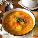 冬のおいしい定番♡【コクとうま味の簡単ミニトマトスープ】