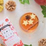 東方美人茶でリンゴスタースパイスティー 味は『星3つ』です♪