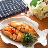 5分で完成‼️お酒に合う♡白身魚のピリ辛焼き
