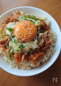 『栄養満点!スタミナ豚キムチ丼』