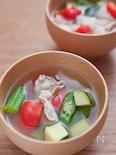 野菜たっぷり!夏野菜とん汁