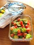 簡単!きゅうりとトマトのピリ辛中華サラダ