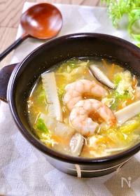 『美味しさ止まらない♡『五目中華スープ』』
