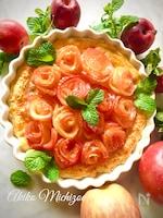 りんごの花がいっぱい*アップルローズパイ♡