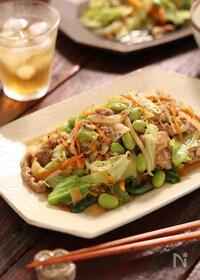 『お弁当屋さんの肉野菜炒め【#ほっと◯っと風 #野菜たっぷり】』