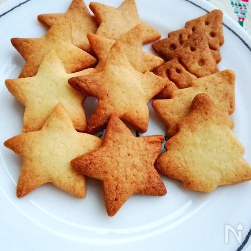 子供と一緒に☆簡単型抜きクッキー