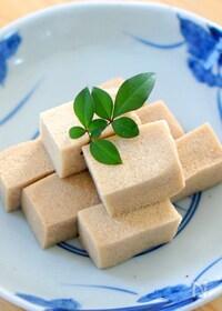 『高野豆腐の含め煮』