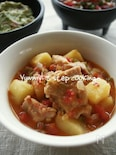 ★料理教室レシピ★鶏肉のサルサ煮込み