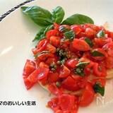 めかじきのグリル トマトとケッパー添え